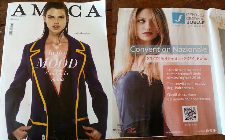 CDJ su Amica di settembre 2014  #cdj #degradejoelle #riviste #siparladinoi