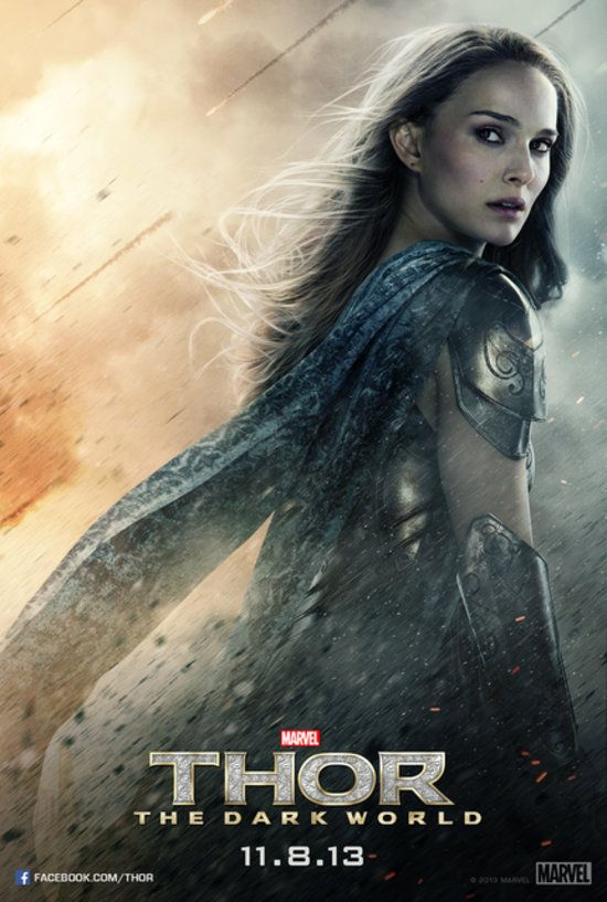 Exclusive: See Natalie Portman's Fierce Poster For Thor: The Dark World