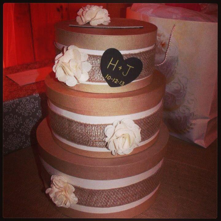 wood wedding card holders%0A Country Rustic Wedding Card box