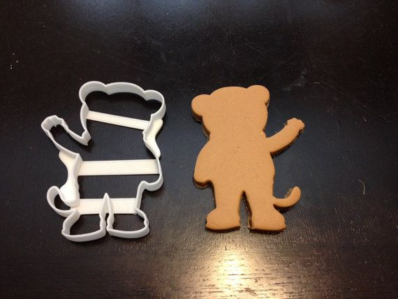 Daniel Tiger Cookie Cutter Silhouette. ABS dishwasher safe plastic. Perfect for cookies, Play-Doh, etc. Daniel Tiger's Neighborhood.