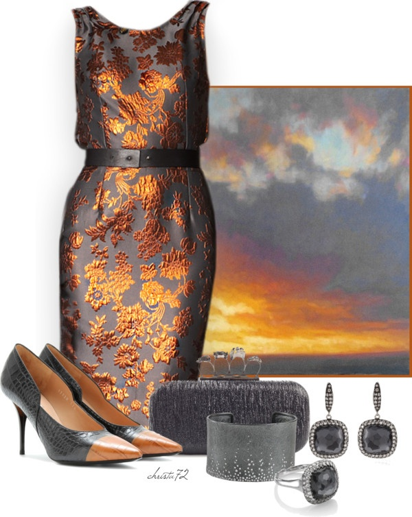 """Sunset"" by christa72 on Polyvore"