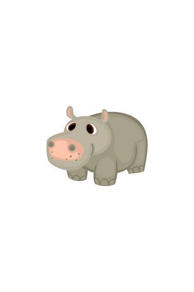 Hippotamus Vector Image #wild #animals #vector #handdrawvector #hippotamus http://www.vectorvice.com/wild-animals-vector-pack