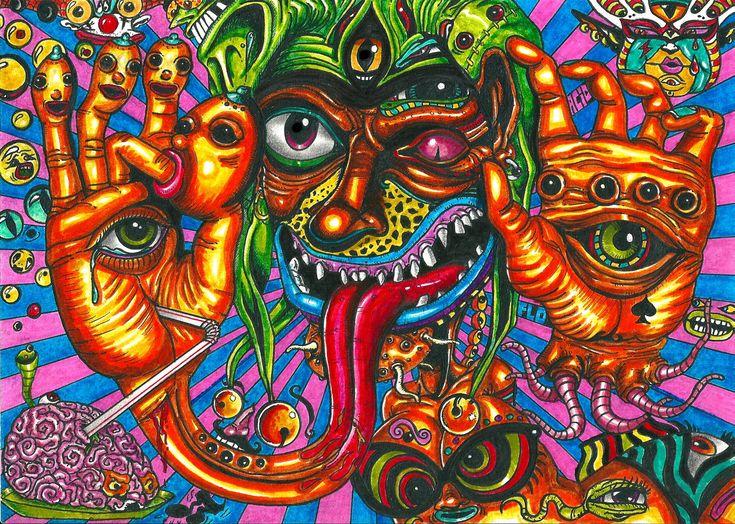 acid drawing