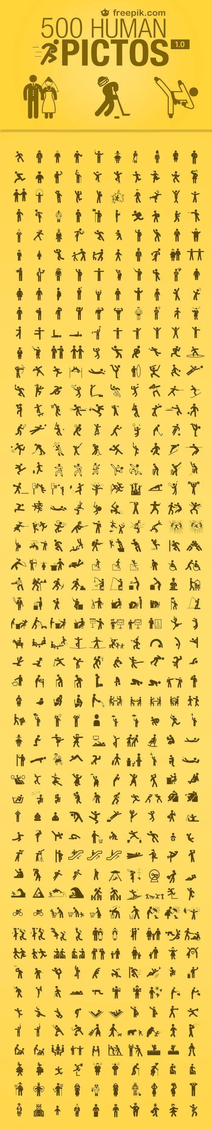 500 Free Human Icons