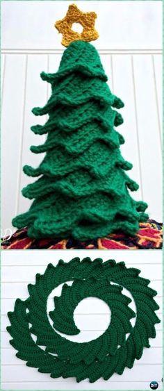 Crochet Oh Christmas Tree Free Pattern - Crochet Christmas Tree Free Patterns
