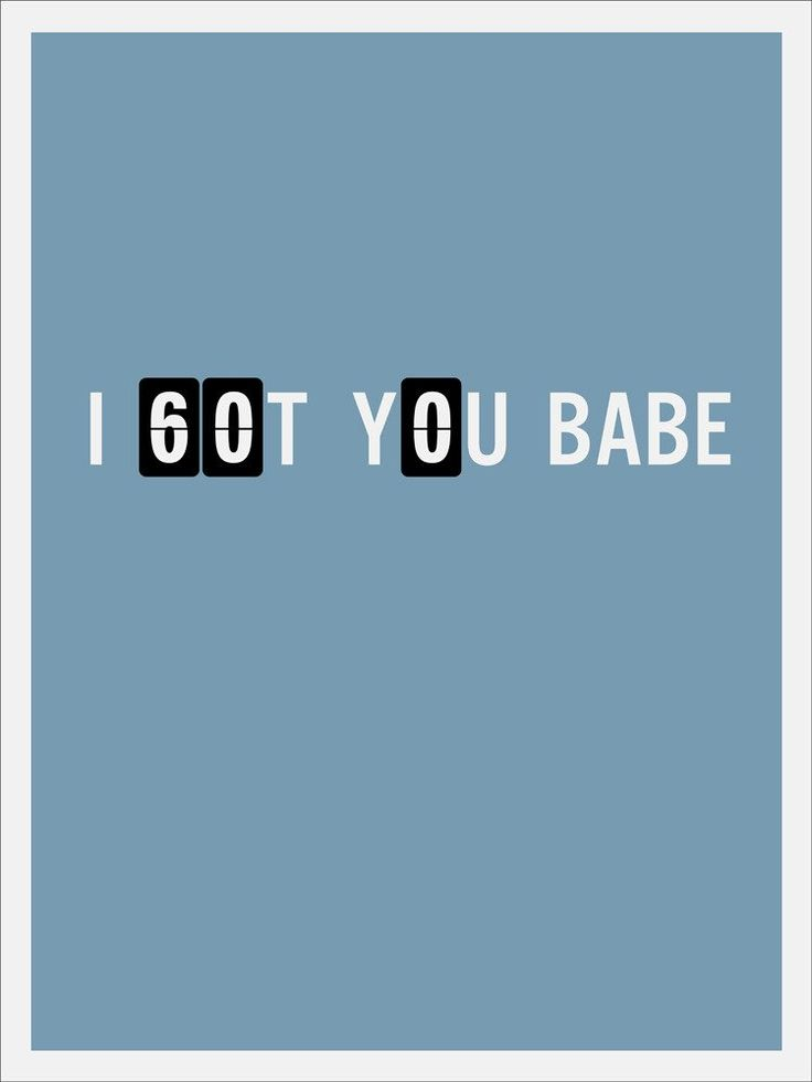 "Matt Owen ""I Got You Babe"" Print"