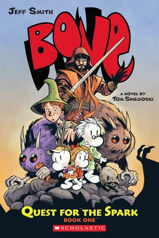 Love The Stacks - Bone 1 Quest for the Spark by Jeff Smith, Tom Sniegoski, $6.00 (http://www.lovethestacks.com/bone-1-quest-for-the-spark-by-jeff-smith-tom-sniegoski/)