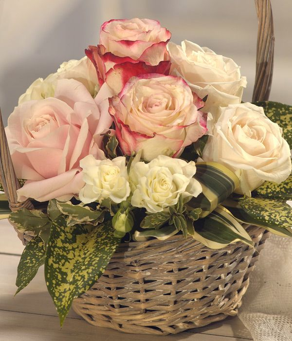 Happy Mother's Day Flower Basket