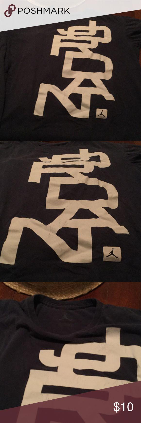 Gently used Nike air Jordan tee Mens air Jordan tee Nike Shirts Tees - Short Sleeve