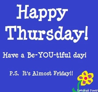 * Happy Thursday! via Comeback Power at www.Facebook.com/CancerDuckIt and…