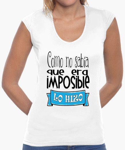 Camiseta No hay imposibles