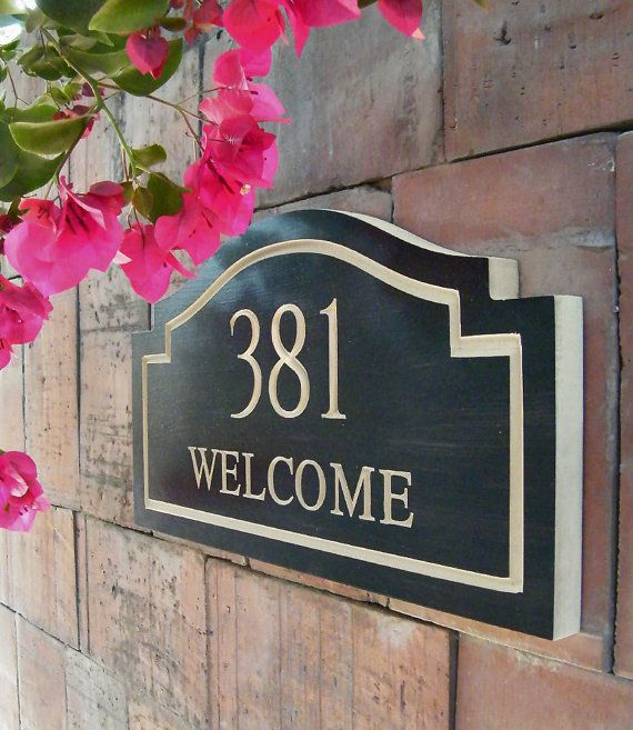 45 best house number plaques images on pinterest house for Location plaque garage