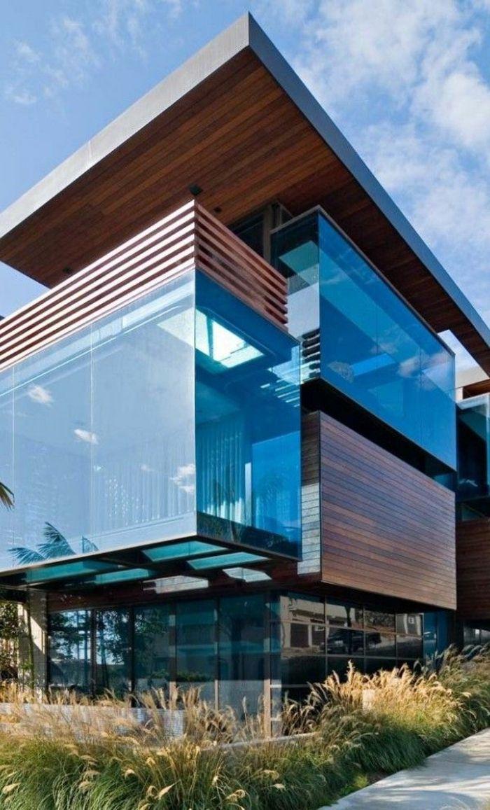 52 best maison images on Pinterest | Modern house design, Modern ...