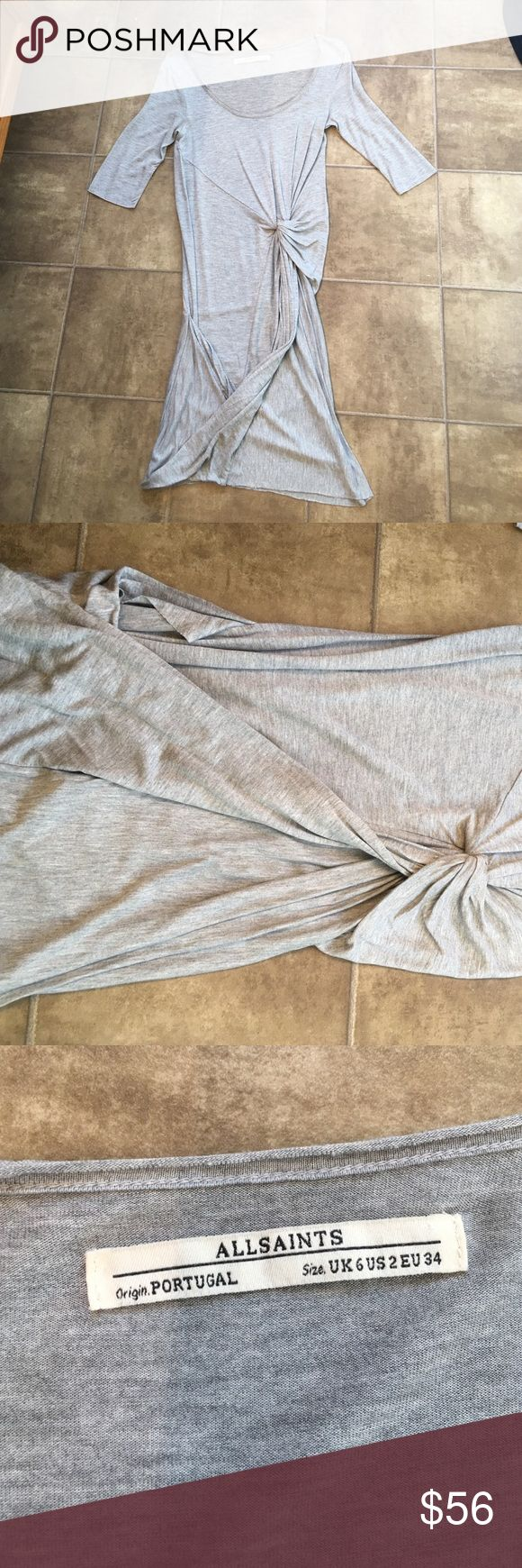 ALLSAINTS DRESS. Worn once! Soft material and gorgeous. Lightweight material. So cute All Saints Dresses Mini