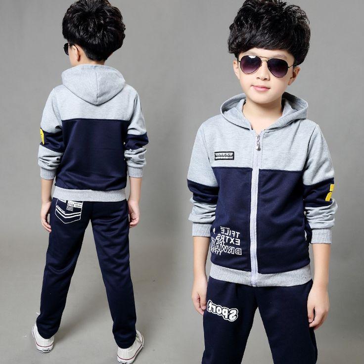28.49$  Buy here - https://alitems.com/g/1e8d114494b01f4c715516525dc3e8/?i=5&ulp=https%3A%2F%2Fwww.aliexpress.com%2Fitem%2FNew-leisure-virgin-suit-boys-spring-type-letters-color-two-piece-cuhk-children-s-children-Kids%2F32644700089.html - New leisure virgin suit boys spring type letters color two-piece cuhk children's children Kids Clothes Shirt Boy 28.49$