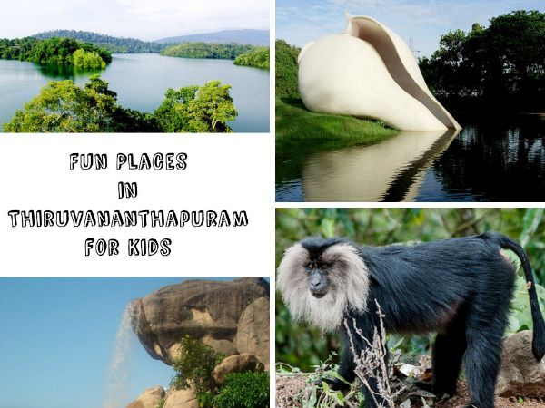 Explore the various places where you can head to with your kids in Thiruvananthapuram...