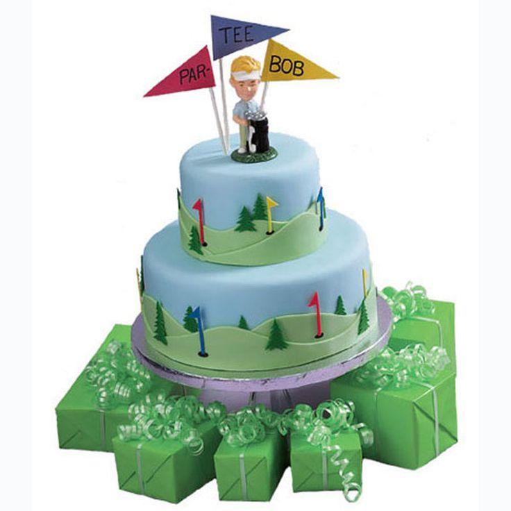 Fairways Birthday Cake