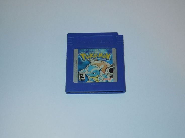 Pokemon: Blue Version Nintendo Game Boy Tested Saves ~ Free Shipping ~