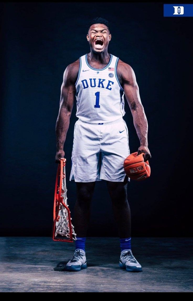 Zion Williamson Duke blue devils basketball, Williamson