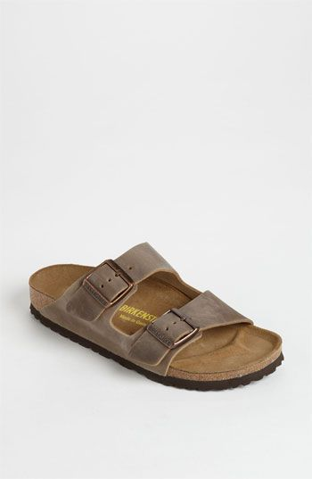 Bought these in a similar color. Birkenstock 'Arizona' Oiled Leather Sandal (Women) available at #Nordstrom