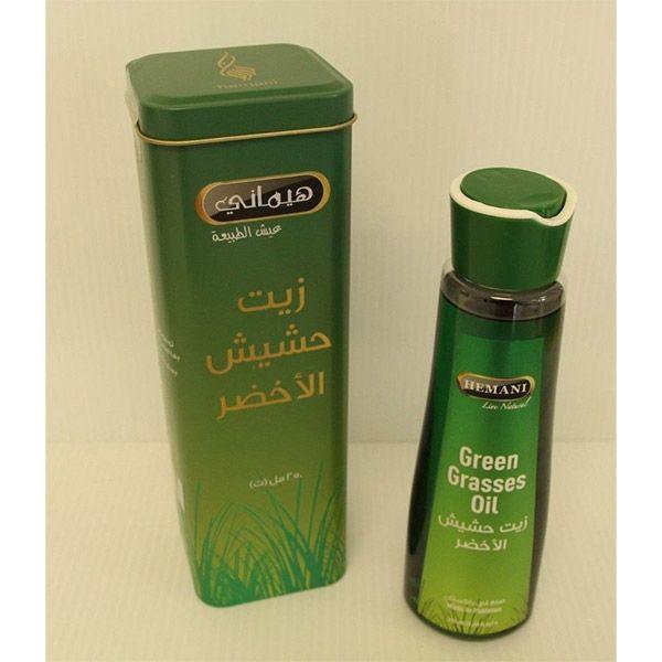 زيت الحشيش الأخضر لتنعيم الشعر Hair Oil Oils Shampoo