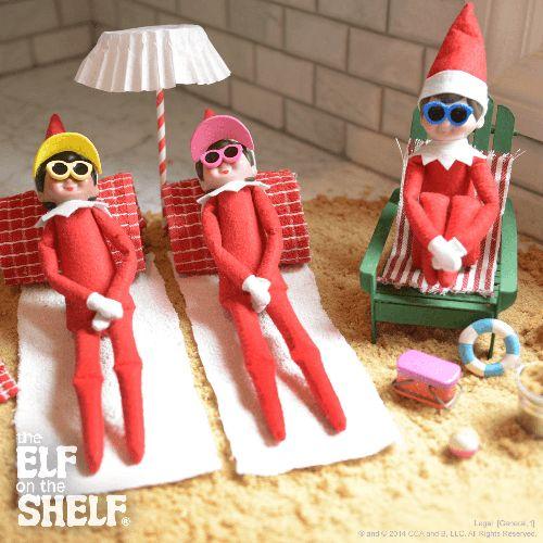 Brown Sugar Beach | Elf on the Shelf Ideas