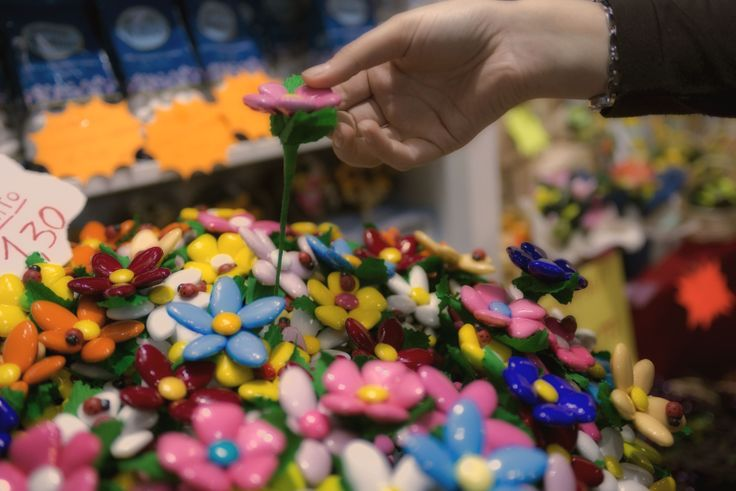 Un colorato bouquet di confetti da Sulmona!