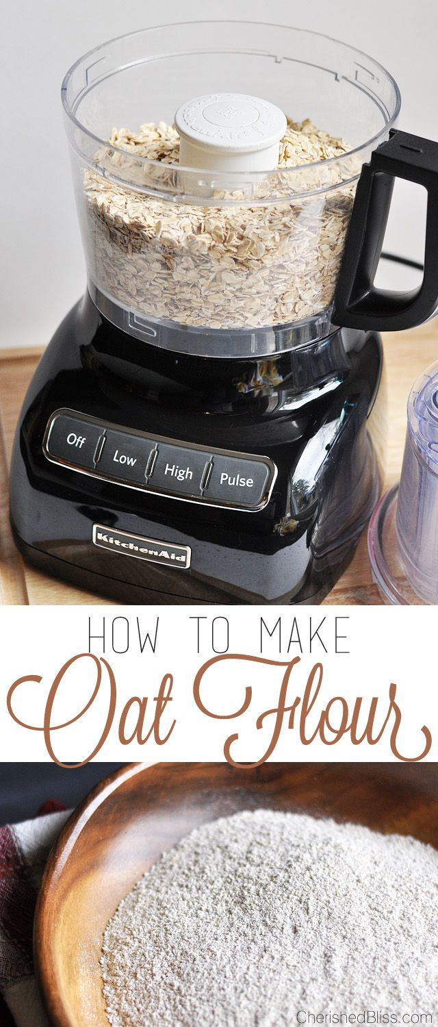 38 best oats recipes images on pinterest cooking food kitchens how to make oat flour forumfinder Gallery