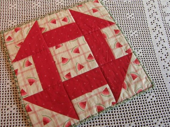 99 best Watermelon Quilts images on Pinterest | Sew, Appliques and ... : watermelon quilt - Adamdwight.com