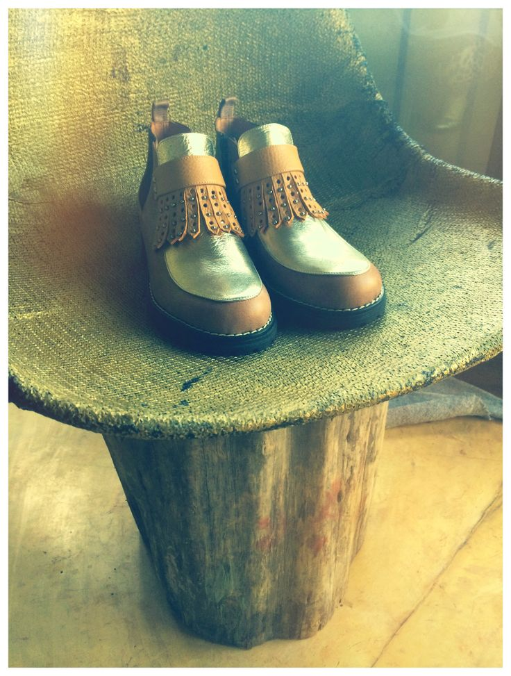 Boots Miki&Choya Chunky Boots #chunkyshoes #leathershoes #mikichoya