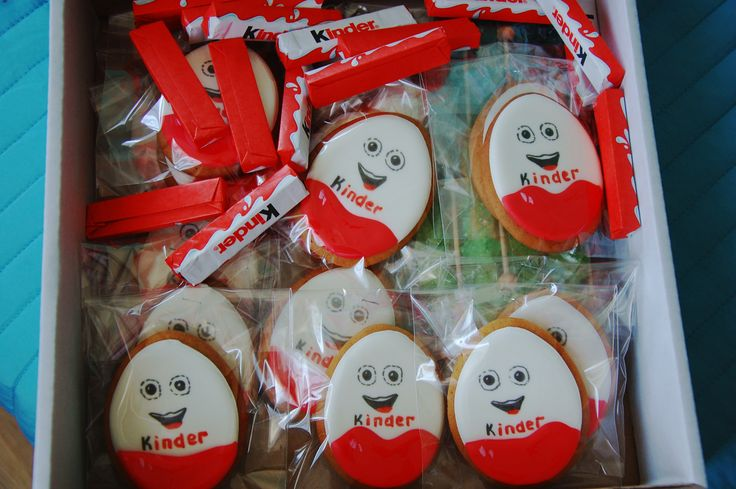 Kinder Surprise cookies