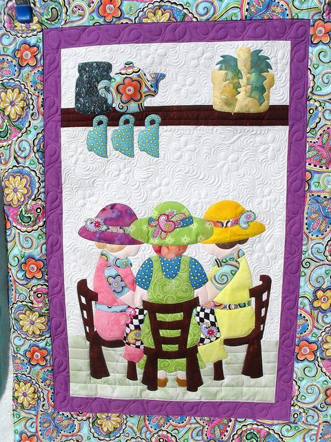 Adorable quilt - Jessica's Quilting Studio, via Flickr.This Is The CUTEST Quilt -EVER!