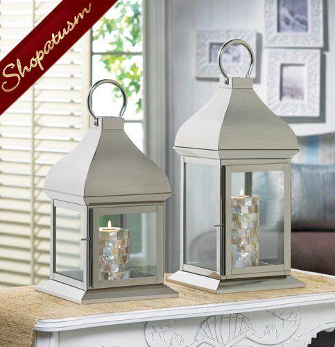 Large Silver Glint Lantern Wholesale At Koehler Home Decor