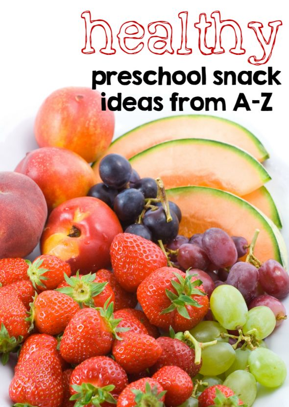 Classroom Snack Ideas Kindergarten ~ Healthy preschool snack ideas from a z best of the