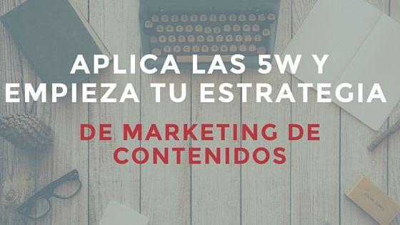 ¿No sabes cómo comunicarte en la red? Échale un vistazo a nuestro post y descubre cómo adecuar las las 6W o las 5W y 1H para empezar una estrategia de marketing de contenidos exitosa.  #marketingdecontenidos #REDPLANETMarketingOnline #socialmedia
