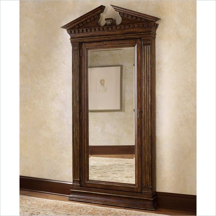 Hooker Furniture Bathroom Vanity: Hooker Furniture Adagio Jewelry Storage Floor Mirror