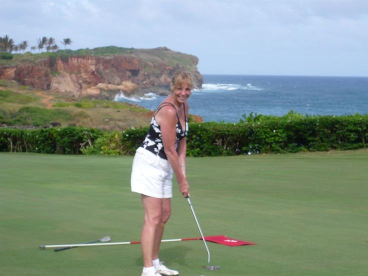 Poipu Bay CC, Kauai, Hawaii. Home of the PGA's grand slam of golf.