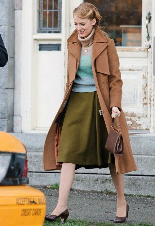 Blake Lively The Age of Adaline set March 17 2014
