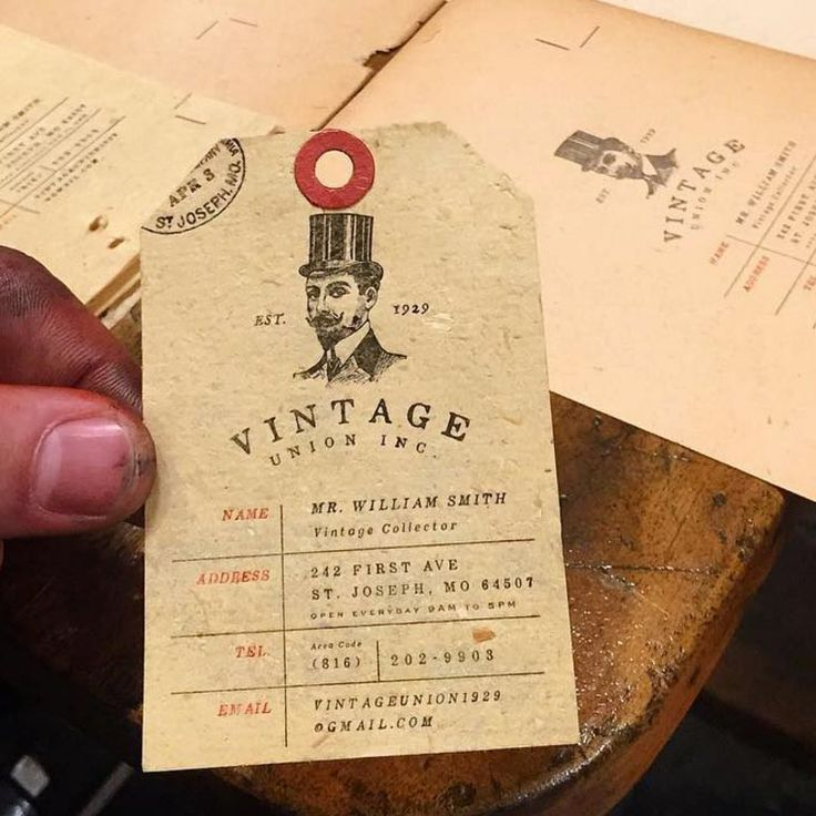 18 best images on pinterest best business cards hang tags produced on 120 year old vintage paper jukeboxprint best business cardshang reheart Choice Image