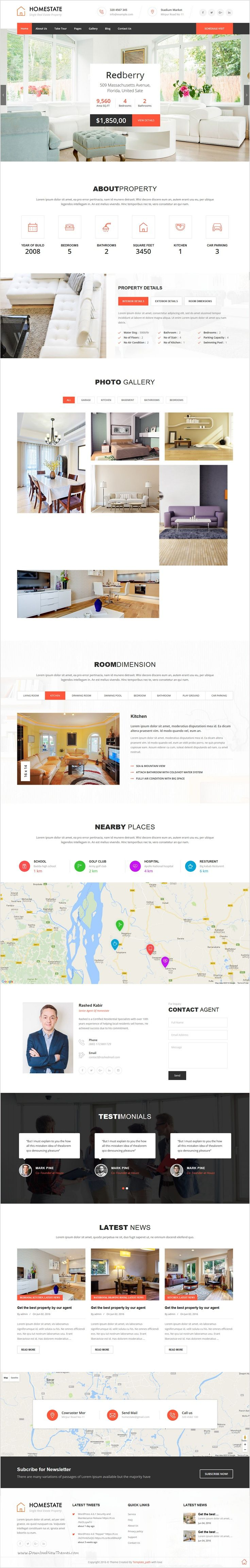 Home state is perfect single #property real estate #WordPress #theme for selling your Villa, Land, Apartment, House and Raw House download now➩ https://themeforest.net/item/home-state-single-property-real-estate-wordpress-theme/16646943?ref=Datasata