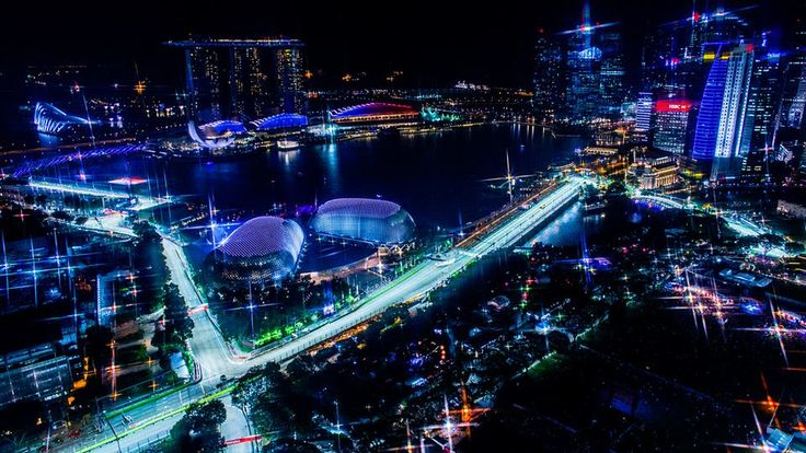Marina Bay Street Circuit by Vladimir Rys #SingaporeGP