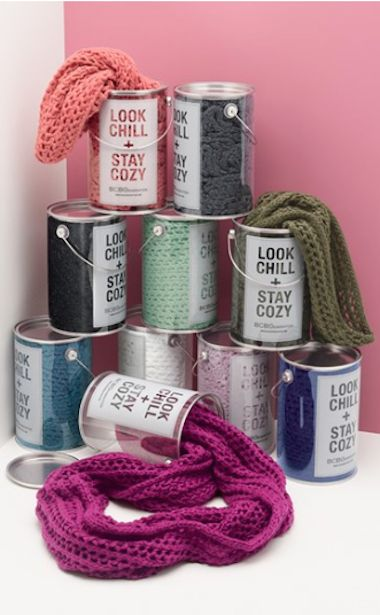 cute open knit scarf in a can last minute gift! http://rstyle.me/n/u6tghr9te