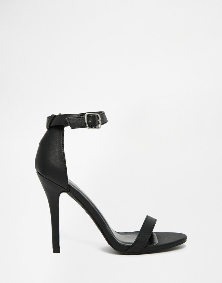 Image 2 ofCall It Spring Jechta Black Heeled Barely There Sandals