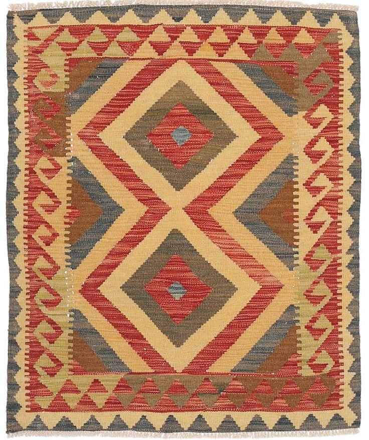 Kelim Afghan Old style matta NAZB1936