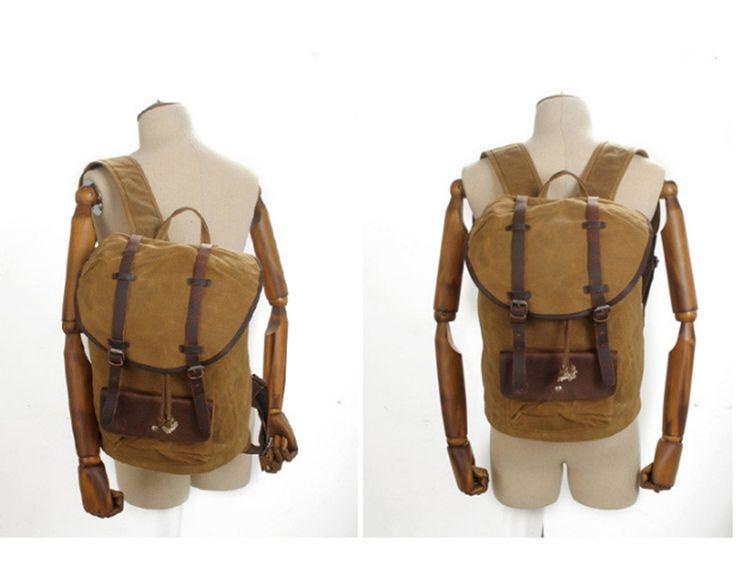 comprar mochilas de couro e lona online em portugal http://malasdehomem.blogs.sapo.pt/mochila-masculina-de-lona-e-couro-10858