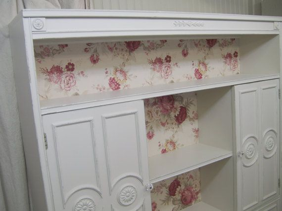 Great idea to do from an old dresser - Love.