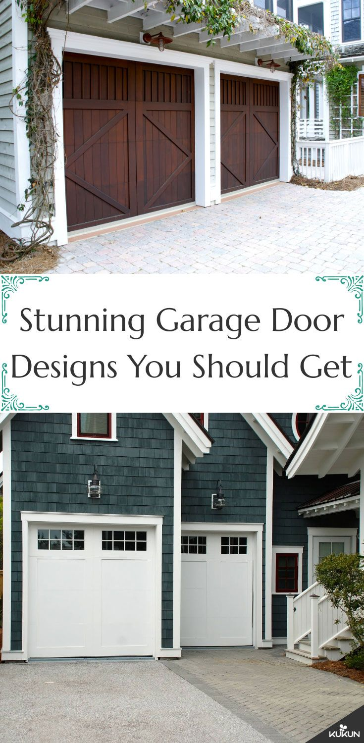 Beautiful Garage Door Designs You Should Try For Your House