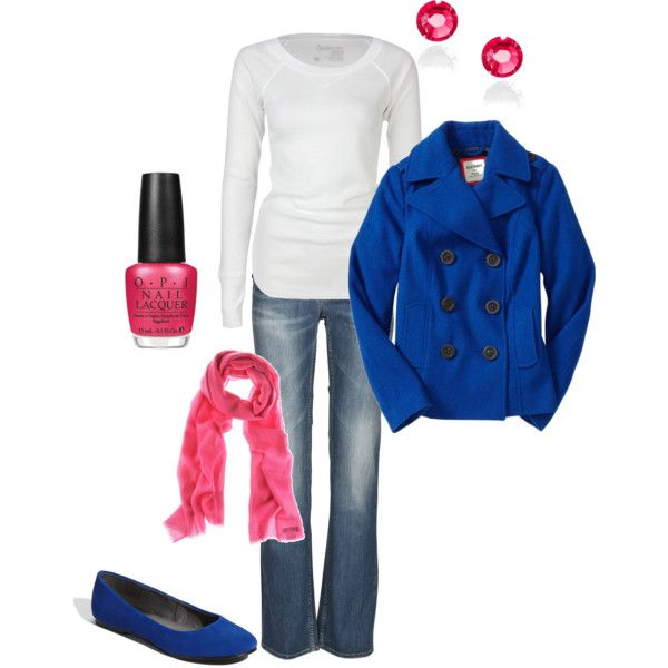 pink and blue!!
