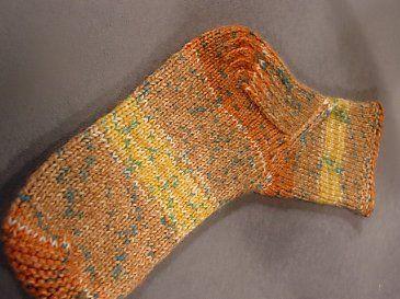 Vickie Howell   Blog: Knitty Gritty Pattern: Cat Bordhi's Coreolis Sock