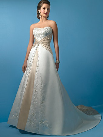 Beautiful Two Toned Wedding Dresses Mother Of The Bride